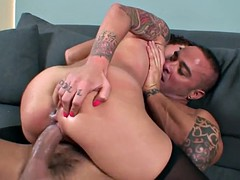 Tatted Spanish French Hot Chick Down To Fuck