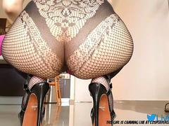 Heels And Fishnets What More Could You Ask For?