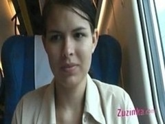Naked Cunt In A Crowded Train
