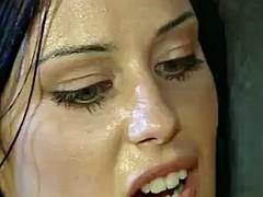 Beautiful Brunette Excellent Suck Fuck Facial Remix