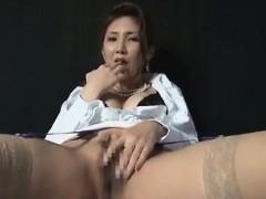 Japanese beauty Masturbation