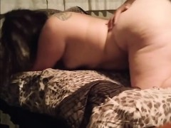 Amateur, Gorda, Morena, Estilo perrito, Sexo duro