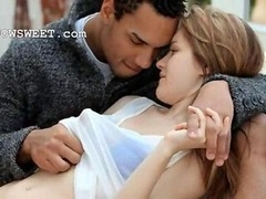 smart euro chick making love with black