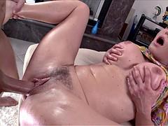Bubble butt whore Krissy Lynn ass ripped