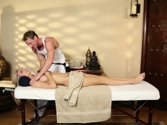 Gorgeous massage amateur facefucked after bj