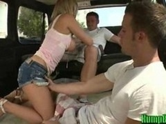 Bree Olson Giving a bj Random Ramrods on the Hump Bus