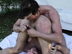 Hot gays flip flop with cumshot
