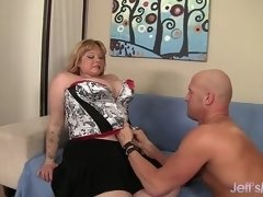 Fatty Kali Kala Lina Has Her Twat Reamed by a Bald Bastard