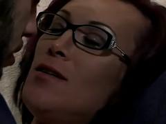 transgender babe sprayed