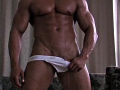 hot bodybuilder rimjob and cumshot