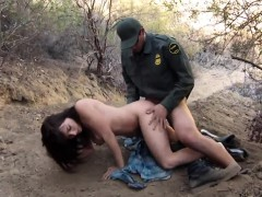 Mother and friends daughter fuck black cops Mexican border p