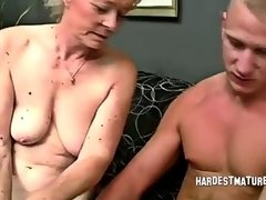 Hairy Granny Gayle Moans