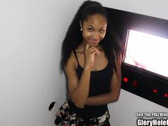 Beauty Small Tit Petite Glory Hole Ebony Cocksucker