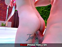 Pegas Productions - Fucking My Young Step-Sister in the Fami