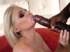 Huge tit blonde rides bbc