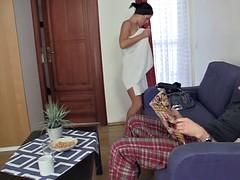 チェコ, ヨーロピアン, 彼女, ハードコア, シャワー