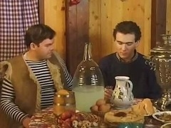 Chica, Ruso, Sauna