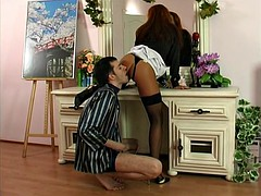 Seduced guy for anal sex