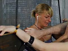 Bondage discipline sadomasochisme, Gebondenheid, Moeder die ik wil neuken, Billekoek
