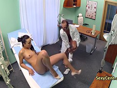 Trimmed pussy nurse fuck doctor