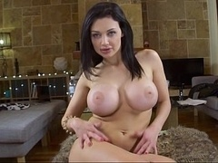 Aletta Ocean playing with her butt