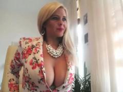 Amateur, Blonde, Mère que j'aimerais baiser, Solo, Jouets, Webcam