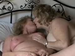 Granny strapon sex