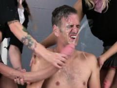 Anaal, Sperma in gezicht, Dominante vrouw, Voorbinddildo, Trio