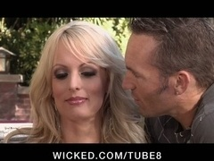 CHEATING Huge Boob Porn pro STORMY DANIELS Has an intercourse STRANGER