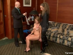 A Rich Couple's Fem Slave