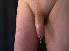 Prostate and furthermore balls massage. Pre-cum and furthermore hand furthermores free cum-shot