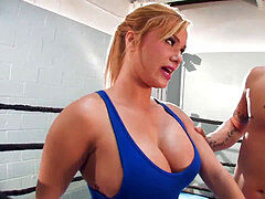 Shyla Stylez MMA teaching and plowing