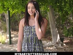 MyBabySittersClub - Submissive BabySitter Fucked By Boss