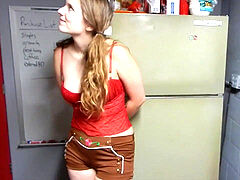 bad doll teen boinking stepfather at his work