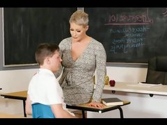 Student has coition with a busty teacher
