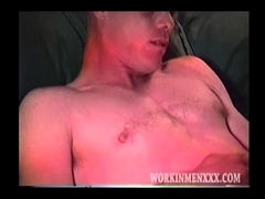 Ripped gay rimmed passionately by horny hunk