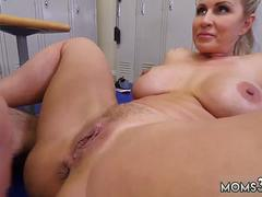 Hairy horny mom fucking xxx She stands in front of the mirror as she takes her