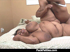 black SSBBW With Gigantic Ass And tits penetrated