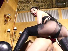 female domination strap on dildo assfuck Whore Back In The Saddle