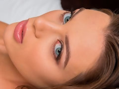 Cute glamorous model Lana Rhoades gets penetrated by a businessman